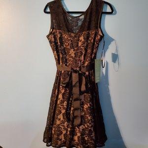 NWT elegant black lace dress